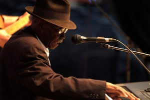Pinetop Perkins, King Biscuit Blues Festival, Helena, AR