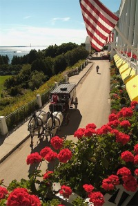 The Grand Hotel, Mackinac Island, Michigan
