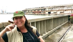 Gail in Havana, Cuba