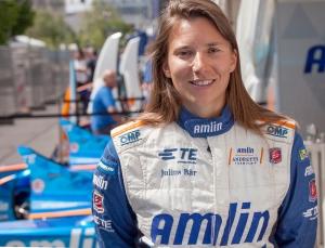 Simona de Silvestro, Formula e Race Car Driver, Berlin, Germany